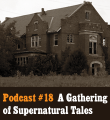Wherein spirits arise and darkness falls across the land. As Halloween approaches, gather around for a telling of supernatural tales. Our listeners sent in chilling stories both fictional and true. We welcome new voices to the podcast as many of the tales are told by the contributors themselves. A big thank you to each contributor for sending in such amazing stories. Prepare yourself because you might not be able to sleep after listening to this one. Intro music by Kevin MacLeod. Whoosh sound by Benboncan. Detuned Piano music by thanvannispen. Podcast: Play in new window | Download