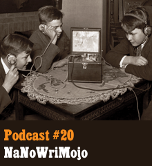 Wherein we discuss NaNoWriMo. November is National Novel Writing Month (shortened to NaNoWriMo) which is a writing challenge to finish a whole novel during the month. Allison is taking part this year as she has in years past and she gives advice for tackling the challenge. This episode is a little shorter than usual in order to deal with our crazy fall schedules. Don't worry. It's still awesome, just more condensed. Theme music byLatché Swing. Podcast: Play in new window | Download