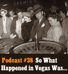 Wherein Corey and Chris descend upon Las Vegas to reveal all the secrets the city doesn't want you to know. The boys dig deep into wild conspiracies, run into a plethora of celebrities (including Hagrid?), and draw up plans for a new hotel casino that will bring purity back to The Strip. Meanwhile Allison has a ravishing party in the Creative Commoners HQ, Penn & Teller back our show (unknowingly), and there're just mountains of porn everywhere. Theme music by Latché Swing. Podcast: Play in new window | Download