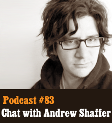 Wherein we have a rousing chat with literary troublemaker and highly pseudonymous Andrew Shaffer (aka @EvilWylie, @EmperorFranzen, Fanny Merkin, and Edgar Allen Pole). The author of the hit Fifty Shames of Earl Grey and the new Literary Rogues: A Scandalous History of Wayward Authorsstopped by the studio to talk about his writing exploits, fun Twitter exchanges, his greeting card line featured on The Colbert Report, and why he feels satire and humor matter. And we kinda punk Patton Oswald at the end. Theme music byLatché Swing. Podcast: Play in new window | Download