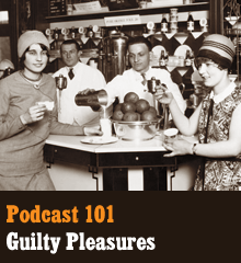 "Wherein we break through the false notion of ""guilty"" pleasures and reveal them for what they are… pleasures! We explore why these things embarrass us, why there's judgement, and what it means if your creative pursuits take you in this direction. Elsewhere, Chris admits to a strange bedtime behavior, Corey unleashes his hobophobia, and Allison kicks her Candy Crush addiction. Theme music by Latché Swing. Podcast: Play in new window 