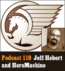 Wherein we sit down with HeroMachine creator Jeff Hebert to pick his brain about art, bringing characters to life, and the value of telling stories. Elsewhere, Allison is creeped out by Lloyd Dobler, Chris invokes Minecraft, and Corey gets a surprising revelation. Theme music by Latché Swing. Podcast: Play in new window | Download
