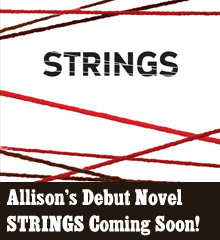 By Allison Dickson It has been a long time coming, but the future has finally arrived. My debut novel, STRINGS, is set to release on October 26th, 2013 from Hobbes End Publishing! Read about it below!   Allison M. Dickson presents a chilling tale of entrapment and greed. Do you have freedom? Do you have control? After four years of turning tricks in a mob-run New York brothel to pay off a debt, Nina is ready to go back to a quiet life in Iowa. Just one more client and the whole nightmare will be behind her, but this last […]