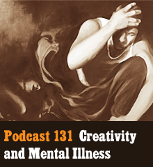 Wherein we discuss the precarious link between creativity and mental illness. What do scientific studies and neuroscience reveal? How do creative professions fare compared to other fields? And what does it mean to struggle between living with disorder or medicating away the creative spark? We also keep it light with plenty of bumblederp, physics divas, and Vietnamese dong. Theme music by Latché Swing. Podcast: Play in new window | Download