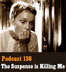 Wherein we talk about all things suspense, including plenty of TV and movie references, the suspense paradox, radio dramas, locked boxes, suspense in different cultures, thrillers, nail-biting tabletop games, and of course the master himself, Alfred Hitchcock. Theme music by Latché Swing. Podcast: Play in new window | Download